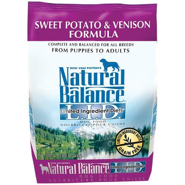 Limited Ingredient Diet - Venison & Sweet Potato Dog Formula