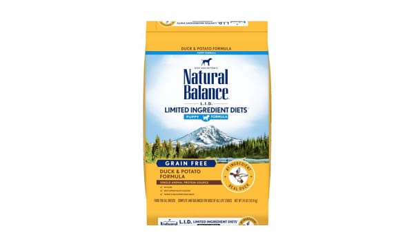 Limited Ingrdient Diet - Duck & Brown Rice Formula for Puppies