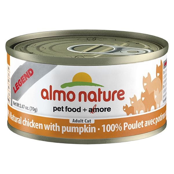 Chicken with Pumpkin Cat Food