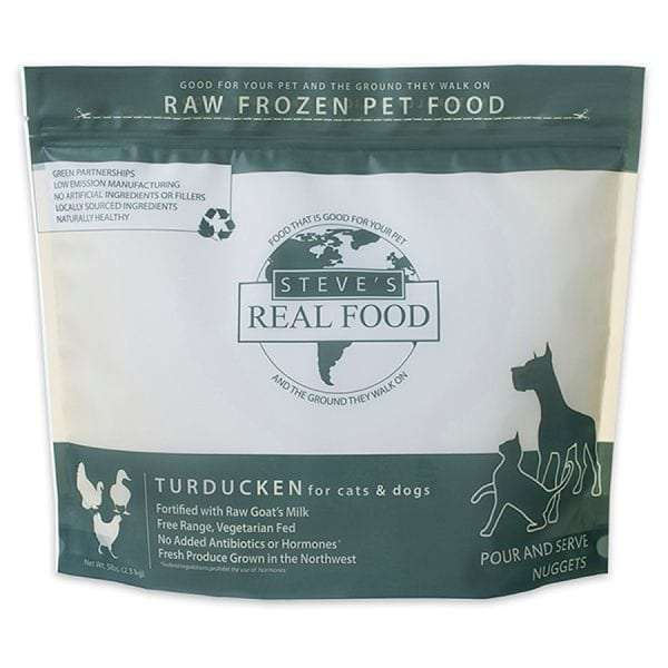 Free Range Raw Turducken Nuggets for Dogs & Cats (Frozen)