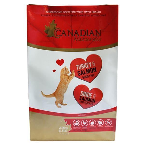 Grain Free Turkey & Salmon Cat Food