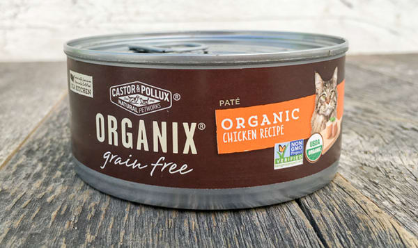 Organic Canned Chicken Cat Food
