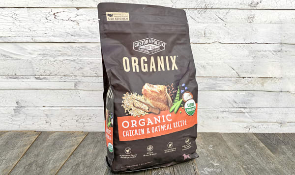 Organic Chicken and Oatmeal Dry Dog Food