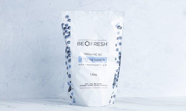 Organic BC Blueberries (Frozen)