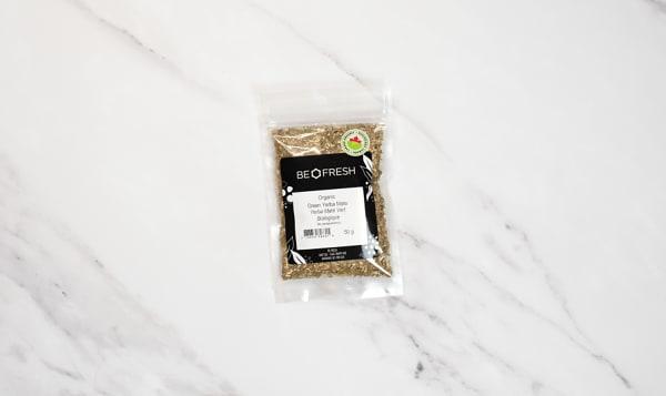 Organic Yerba Mate, Green, Cut