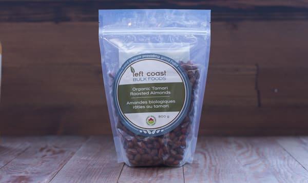 Organic Almonds - Tamari Roasted