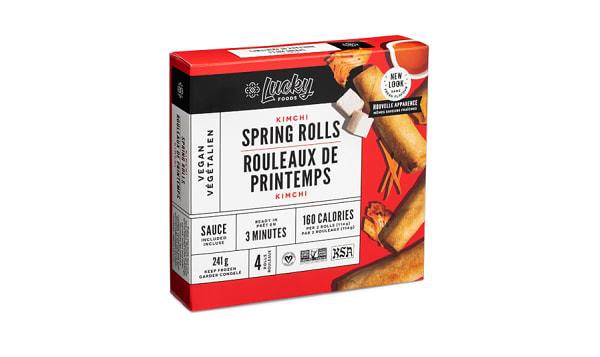 Kimchi Spring Rolls (Frozen)