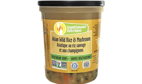 Asian Wild Rice and Mushrooms Soup