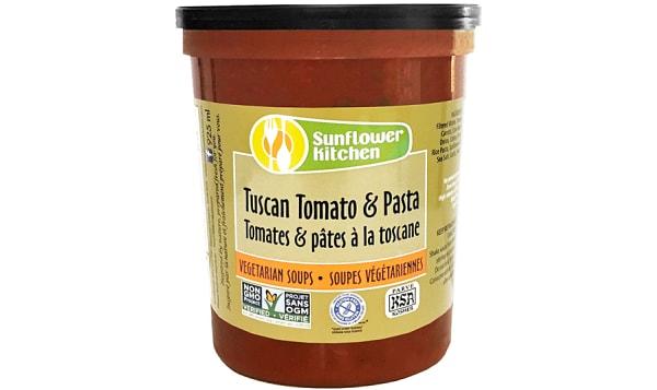 Tuscan Tomato & Pasta Soup