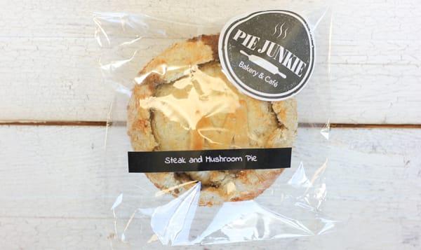 Steak & Mushroom Pie (Frozen)