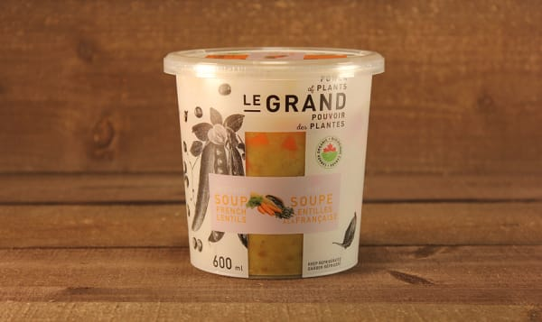 Organic French Lentils Soup