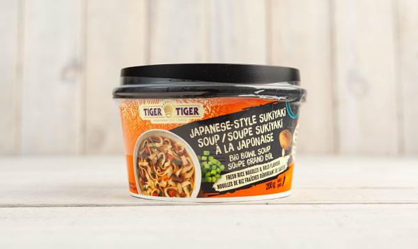 Tiger Tiger Noodle Soup Bowl Sukiyaki 200g Shop At Spud Ca