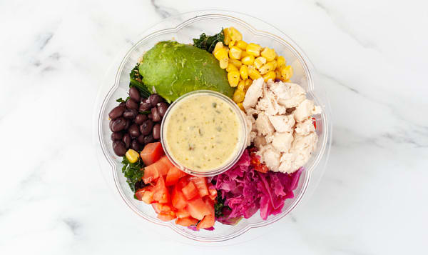 Baja Chicken Salad Bowl