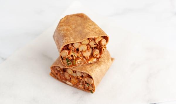 Bombay Chicken Wrap