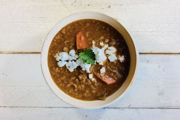 Mediterranean Lentil Soup 1L
