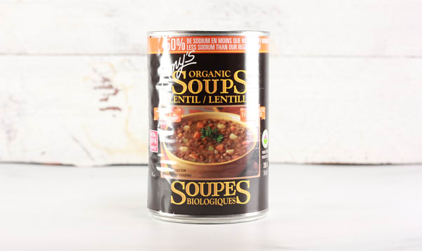 Organic Low Sodium Lentil Soup