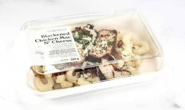 Blackened Chicken Mac N Cheese