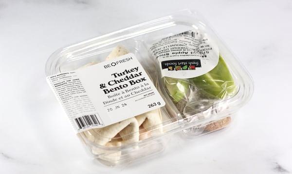 Turkey & Cheese Wrap Bento Box