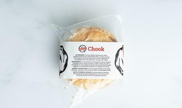 Chook Pie - Chicken and Mushroom (Frozen)