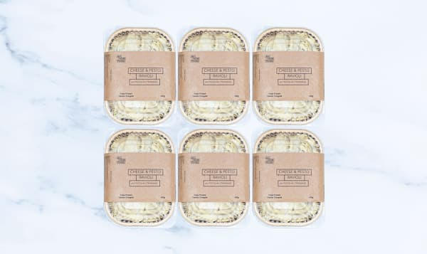 Cheese Ravioli with Pesto - 6 Pack (Frozen)