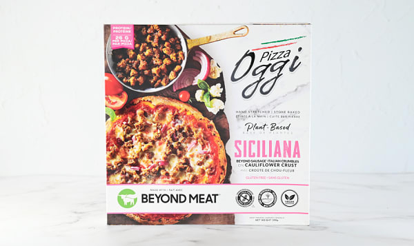 Siciliana Beyond Sausage Crumble Pizza (Frozen)