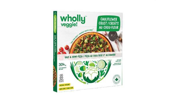 Kale and Hemp Pizza - Vegan (Frozen)