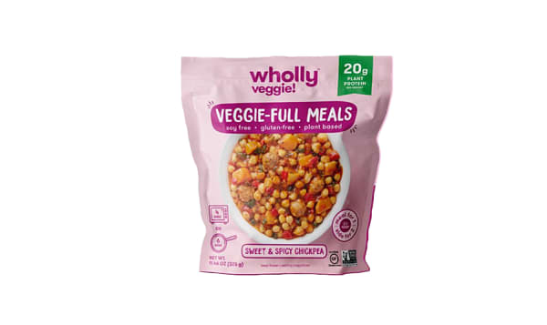 Sweet and Spicy Chickpea Meal (Frozen)
