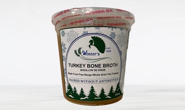 Free Range Turkey Bone Broth (Frozen)