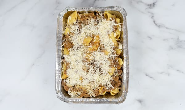 Baked Rigatoni with Beef Bolognese (Frozen)