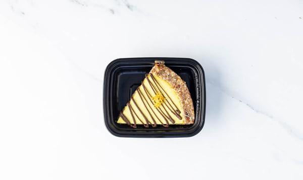 Vegan Lemon Mousse Pie