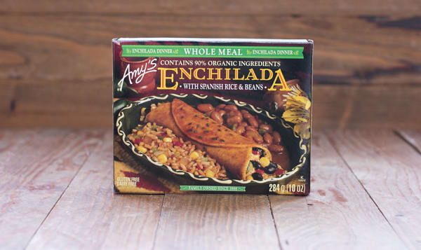 Organic Enchilada with Spanish Rice and Beans (Frozen)