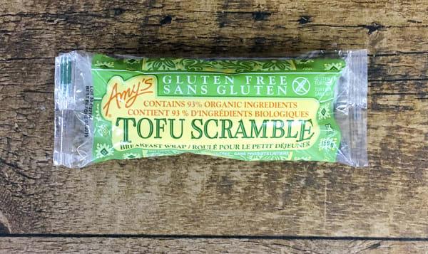 Gluten Free Tofu Scramble Breakfast Wrap (Frozen)