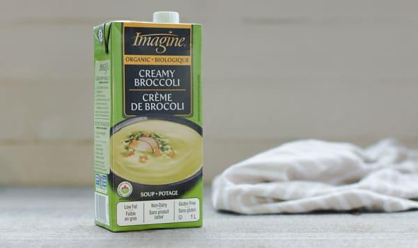 Organic Creamy broccoli soup