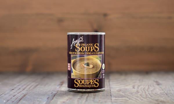 Organic Cream of Mushroom Soup - BPA Free