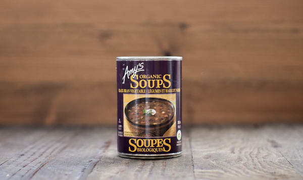 Organic Amy's Black Bean Vegetable Soup - BPA Free
