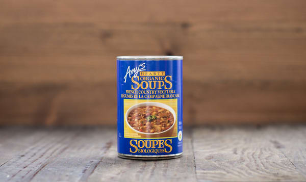 Organic French Country Vegetable Soup - BPA Free