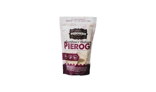 Organic Saurekraut and Mushroom Pierogies (Frozen)