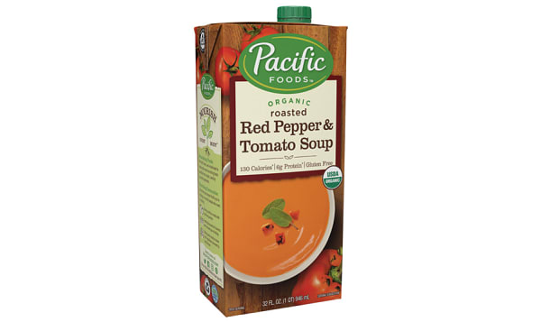 Organic Red Pepper Tomato Soup