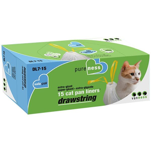 Drawstring Litter Pan Liners - Extra Giant