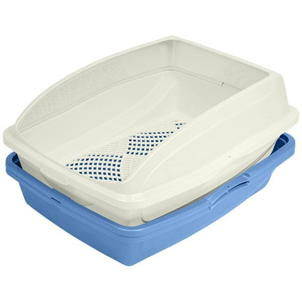 Large Sifting Litter Pan with Frame - 19x15x5