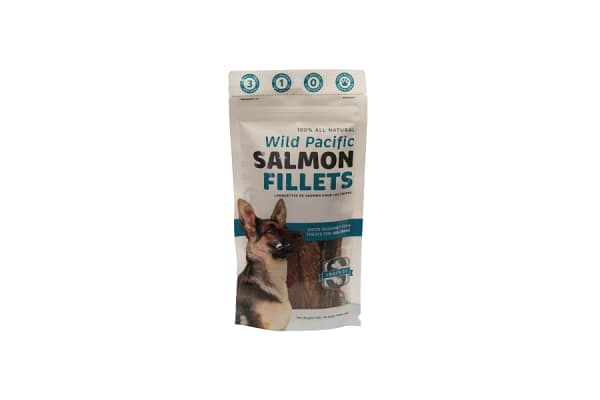 Salmon Jumbo Fillets for Big Dogs
