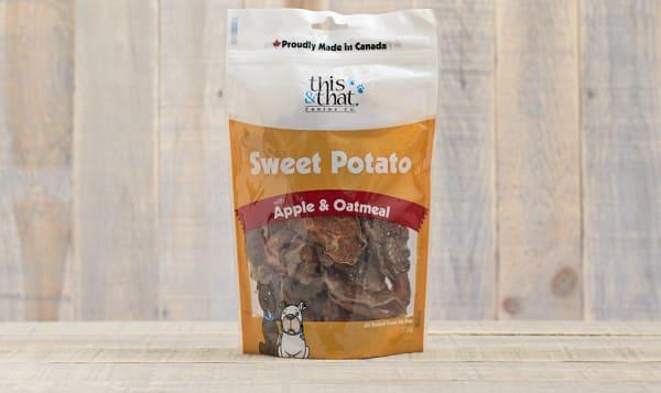 Sweet Potato with Apple & Oatmeal Treats