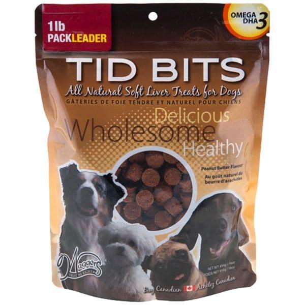 Jay's TidBits Dog Treats - Peanut Butter