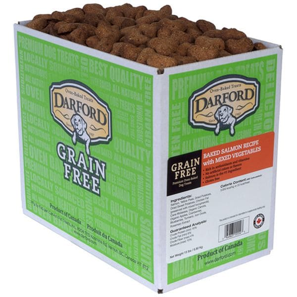 Grain Free Salmon Dog Treats