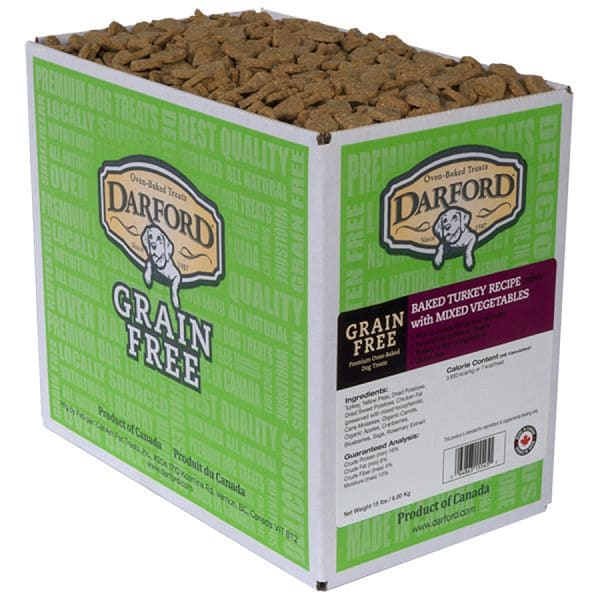 Grain Free Turkey Mini Dog Treats
