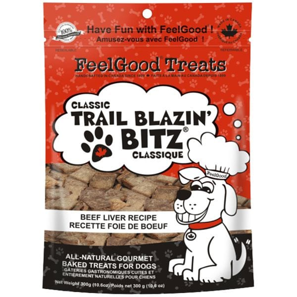 Classic trail Blazin' Bitz - Beef Liver Dog Treats