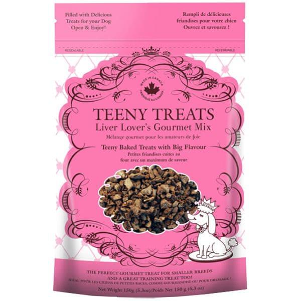 Teeny Treats Liver Lovers Gourmet Mix Dog Treats