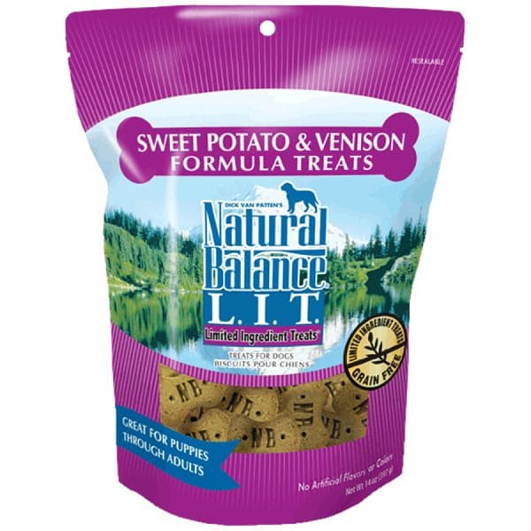 Limited Ingredient Treats: Venison & Sweet Potato Dog Treats