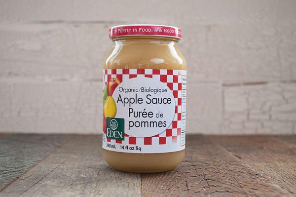 Organic Apple Sauce, Unsweetened