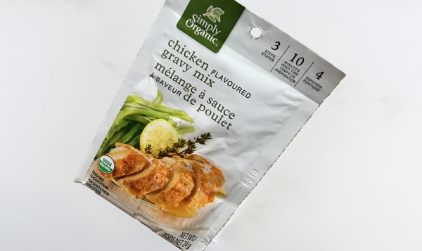 Organic Roasted Chicken Gravy Mix